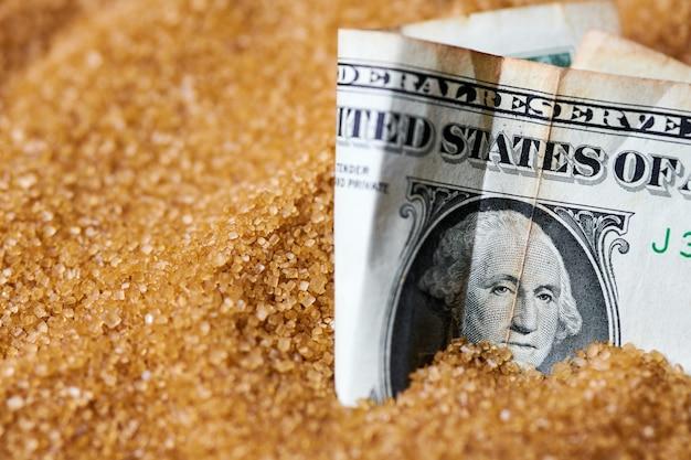 Долларовые деньги в сахаре. экспортные цены на сахар, экономическая концепция