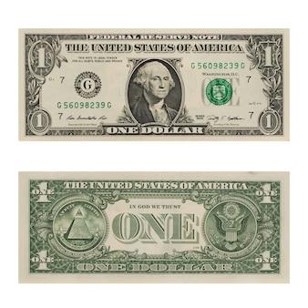 달러 지폐 1달러