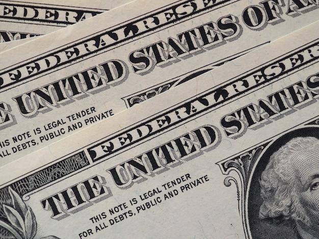 ドル紙幣、アメリカ合衆国