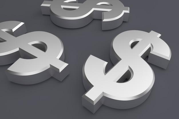 ドル記号の背景