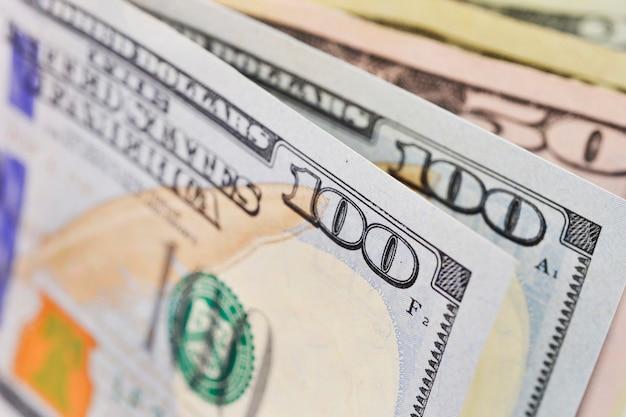 Фон банкноты доллар доллар сша
