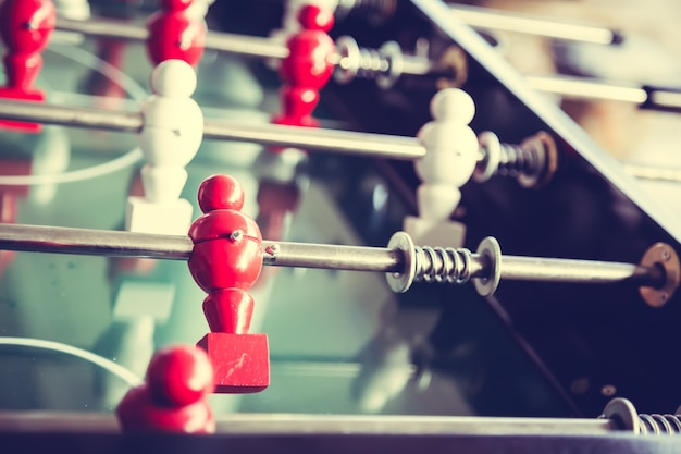 Dolls of a table football