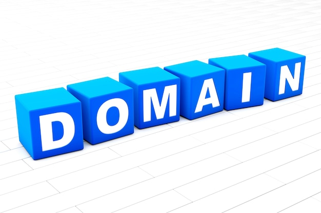 Domain word illustration