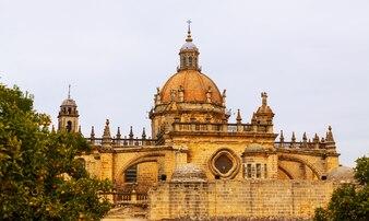 Dome of  cathedral in  day. jerez de la frontera