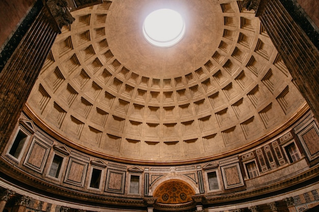 Dome of pantheon in rome