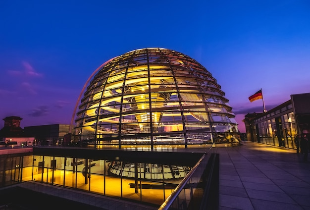 Dome of reichstag building