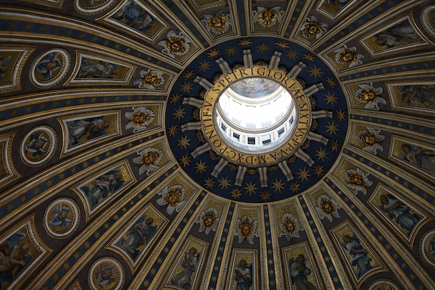 The dome of the sistine chapel in the vatican
