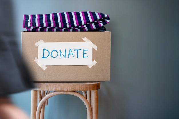 Donation concept.