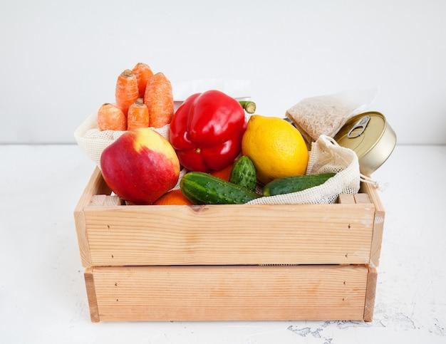 Donation food box