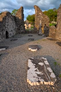 Donegal кладбище hdr фотографии