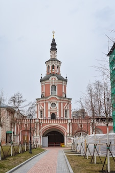 Donskoy monastery in moscow