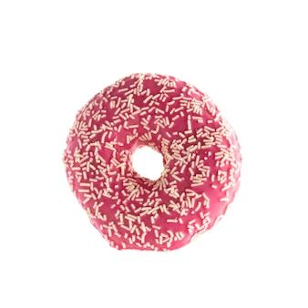 Donut isolated on a white background