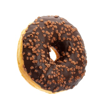 Donut isolated on a white.