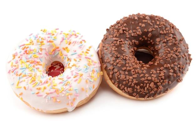 도넛 흰색 절연