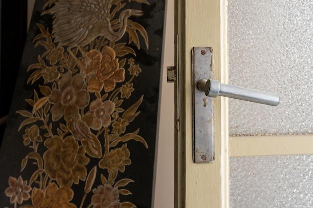 Door handle of an old house