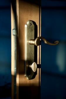 Ручка дверной ручки и замок