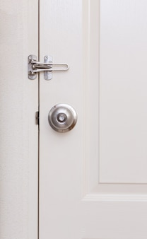 Door knob with door lock