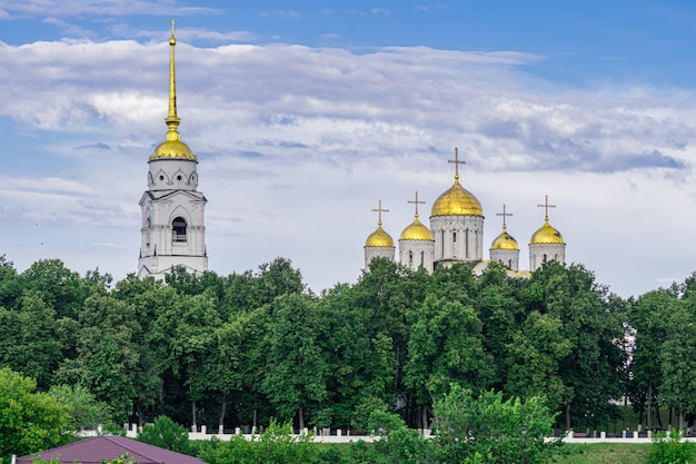 Dormition cathedral, vladimir, russia