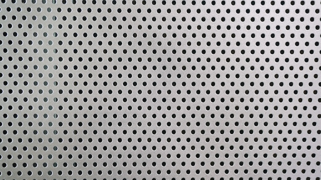Dot pattern of metal mesh filter
