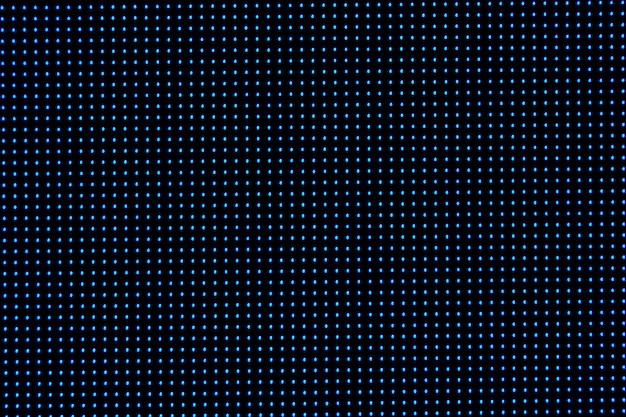 ドットrgbスペーステレビ。スペースデザインに青色のドットを使用