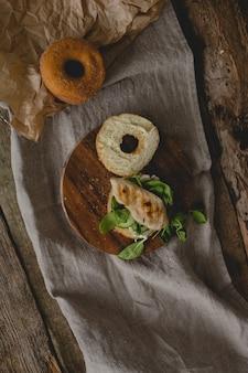도넛 샌드위치