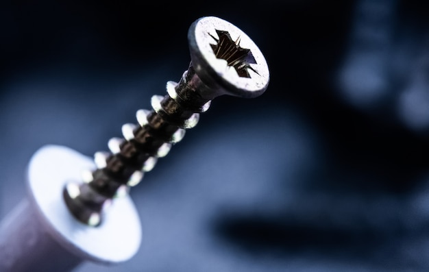 곱슬 드라이버 용 맞춤 핀