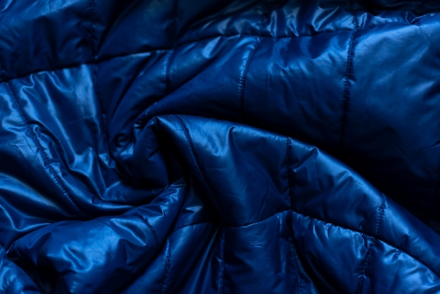 Down jacket fabric background