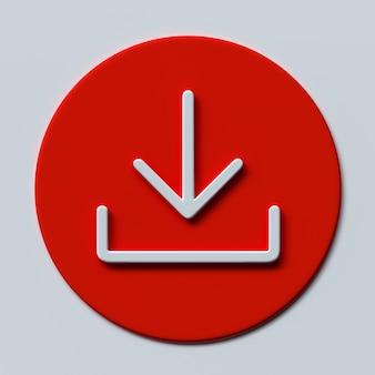 아이콘 설치 기호 3d 그림 다운로드