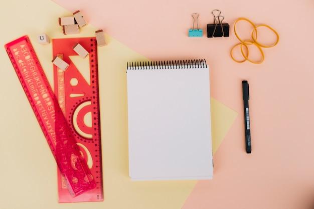 Drafting stuff around notebook