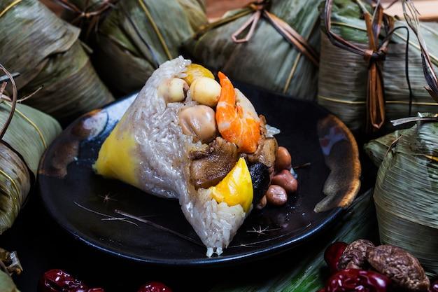 Dragon boat festival rice dumplings