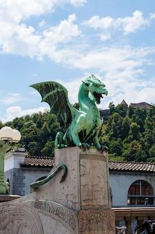류블 랴나, 슬로베니아에서 용 다리