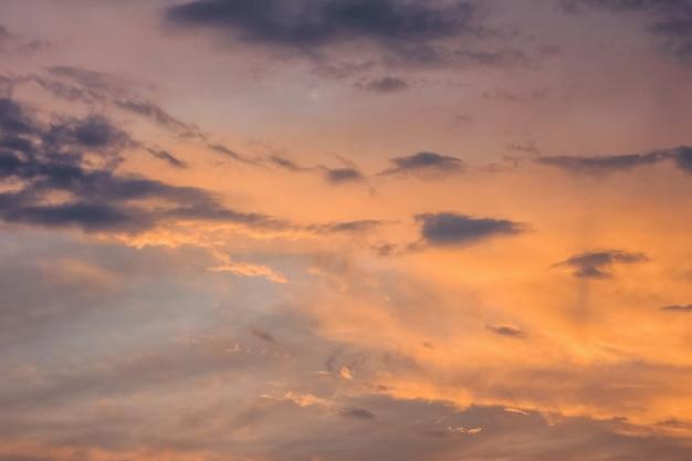 Dramatic evening sky backgound