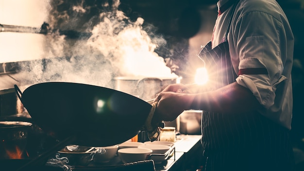 Dramatic with cooking