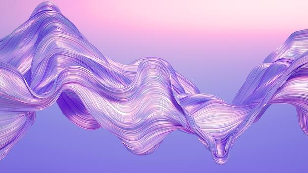 縞模様のカーテン生地