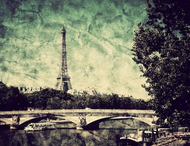 Drawing paris Free Photo