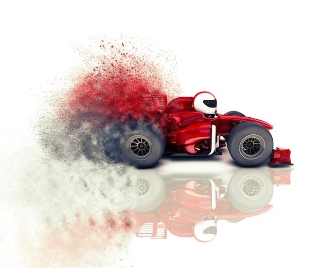Drawing race car