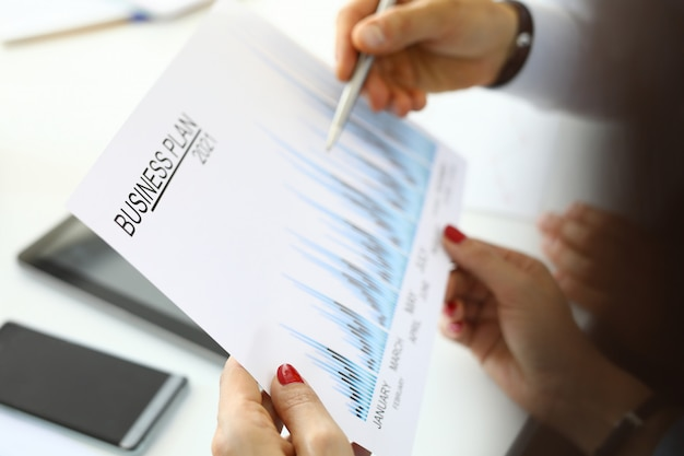 Drawing up and forecasting a business plan