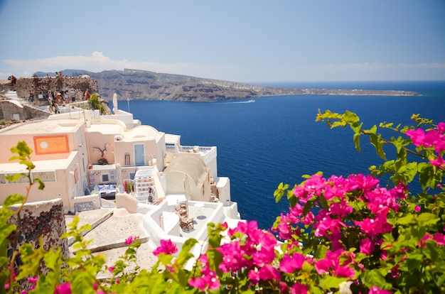 Dreamlike trip to the island of santorini