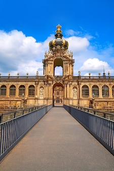 Дрезден цвингер в саксонии германия