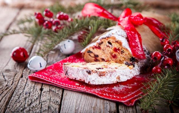 Dresdnen stollen christmas fruit cake