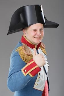 ナポレオンにdressした俳優。