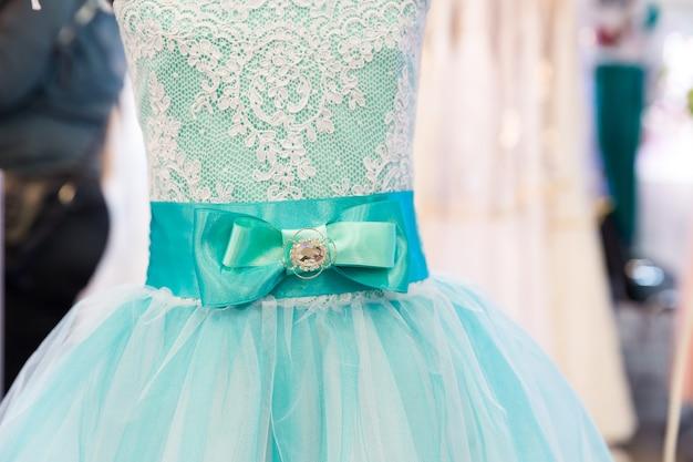 マネキンのドレス