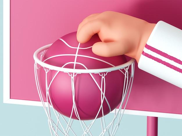 Дриблинг мяч
