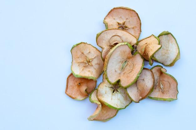 乾燥したリンゴのスライス