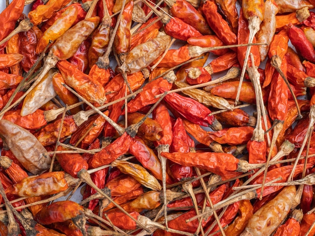 Dried chillies for cooking and is also an exported agricultural product