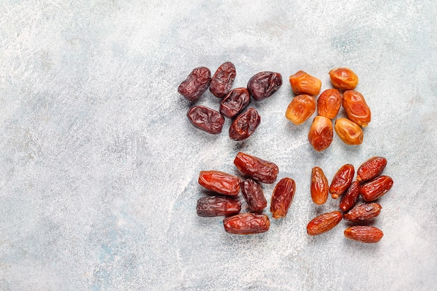 Dried dates or kurma.