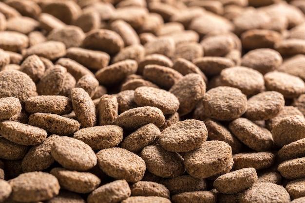 Dried dog food