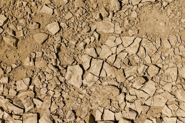 Dried earth in cracks. background symbolizing drought. high quality photo
