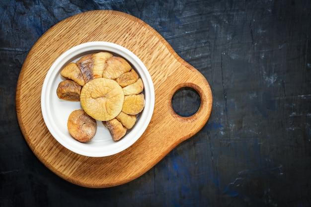 ドライフルーツイチジクの甘い自然なデザート