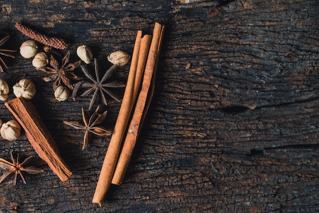 Dried herb collection set  mix of dry plant seed herbal for nature alternative medical background